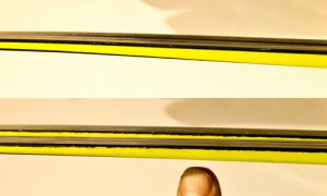 Speedmax above, Carbonlite below - different responses to changing temperatures.