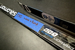 Tad raced this pair of Carbon Skate LAB skis to a podium finish in the Craftsbury Super Tour individual skate race this winter (with a TB2w).