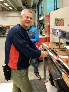 It's possible that Tore Rønningen is the foremost expert in the world at selecting skin skis.