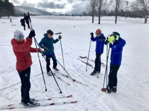 The Putney boys tested Gunnar's fleet of 2.0 skis at the New England BKL Festival. Reviews were positive.